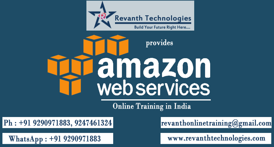 Amazon Web Services Online Training from India