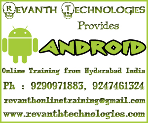 Android Online Training from India