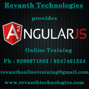 Angular2 Online Training from India