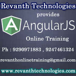 Angularjs Online Training from India