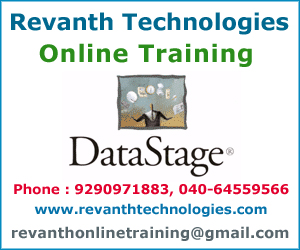 Datastage Online Training from India