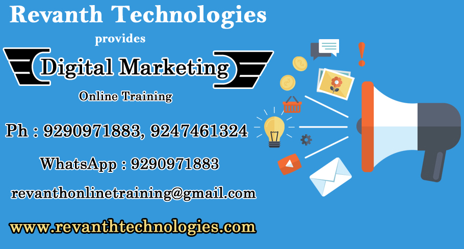 Digital Marketing Online Training from India