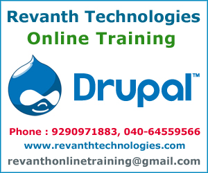 Drupal Online Training from India