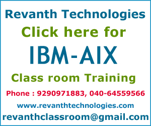 IBM-AIX Training Institute in Hyderabad