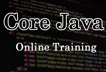 Core Java online training in Hyderabad India