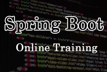 Spring Boot online training in Hyderabad India