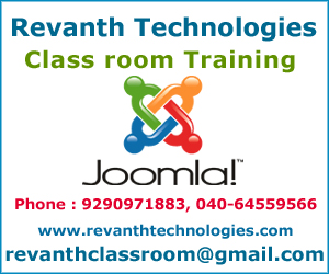 Joomla Training Institute in Hyderabad