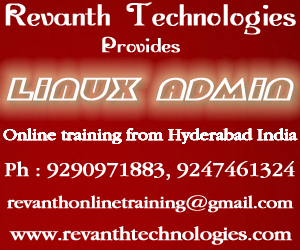 Linux Administration Online Training from India