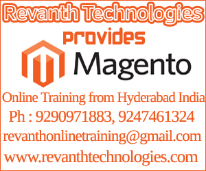 Magento Online Training from India