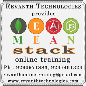 Mean Stack Online Training from India