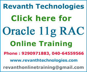Oracle 11g RAC Online Training from India