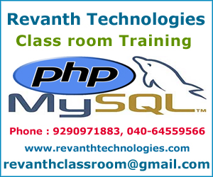 PHP Training in Ameerpet Hyderabad