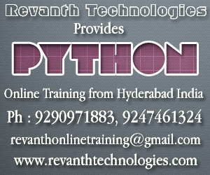 Python Online Training from Indiaa