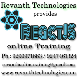ReactJS Online Training from India