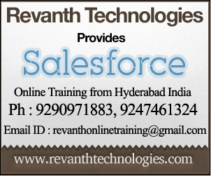 Salesforce Online Training from India
