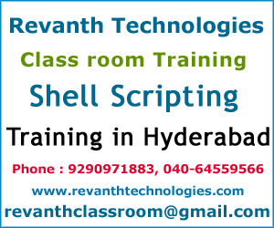 Shell Scripting Training Institute in Hyderabad
