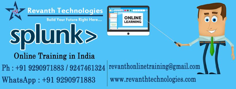 Splunk Online Training from India