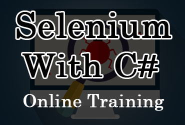 Selenium with C# online training in Hyderabad India