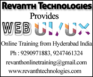 UI Development Online Training from India