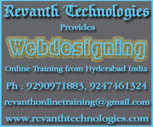 Webdesigning Online Training from India