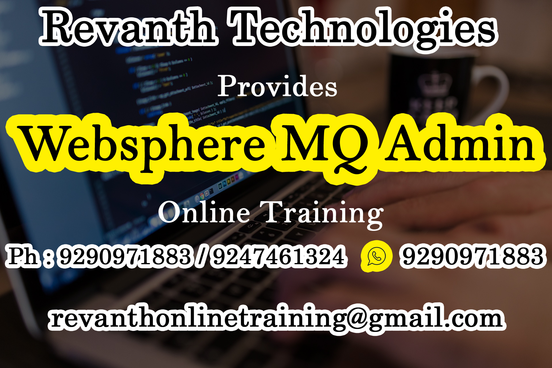 Websphere MQ Admin Online Training from India